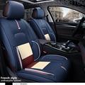 Специальные Кожаные сиденья автомобиля чехлы Для BMW Всех Моделей E30/34/36/39/46/60/90 f10 f30 x3 x5 x6 автомобилей черный/серый/красный/синий АКСЕССУАРЫ