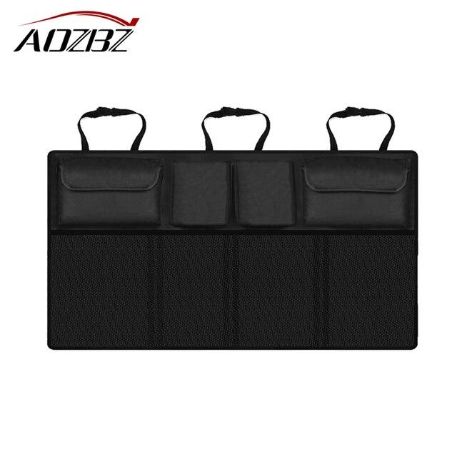 Car Trunk Back bag Folding Storage Box Multi-Use Tools Organizer Car organizer Black bag Car Portable Storage Bags