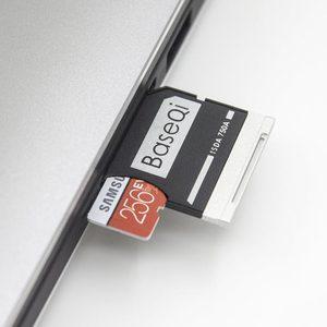 "Image 4 - BaseQi Hafıza Kartı Adaptörleri 750A Ninja Gizli Sürücü kart okuyucu Için Dell XPS 15 ""9550 Mikro usb kart okuyucu adaptador ssd usb sd"
