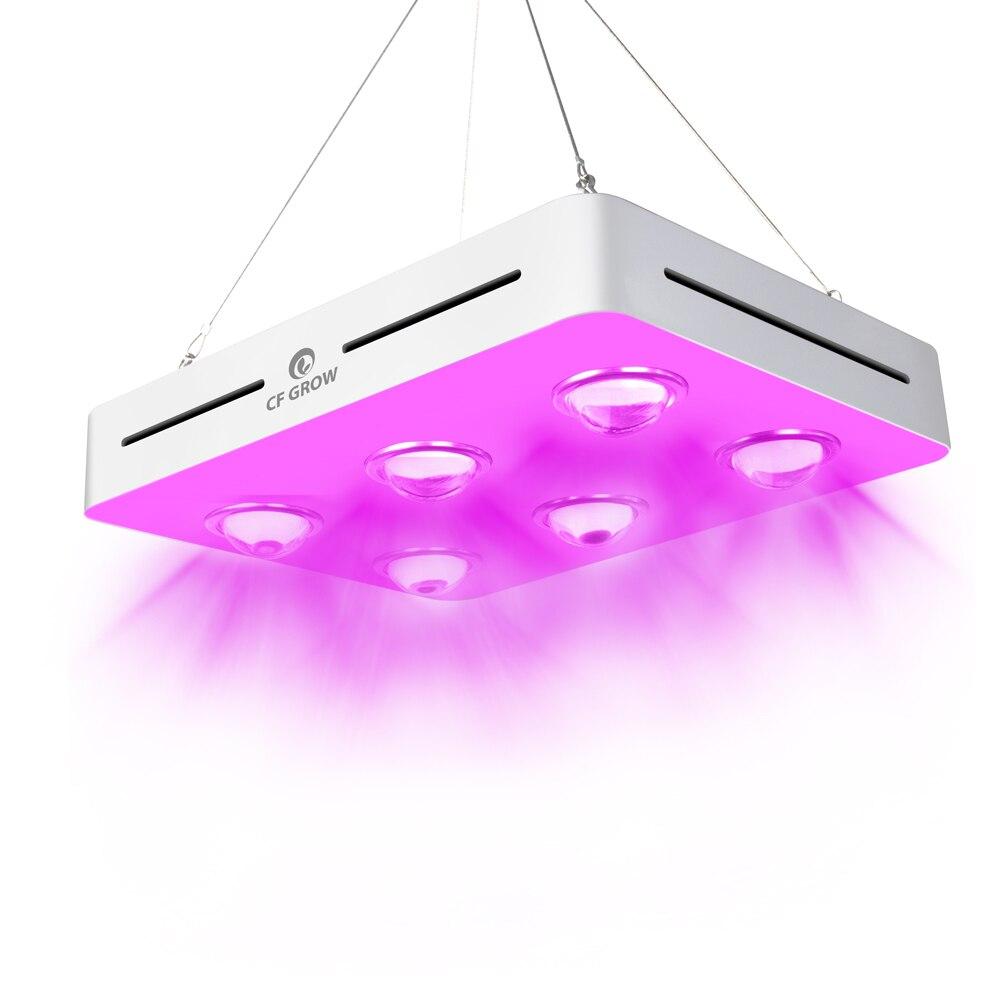 Светодиодная лампа полного спектра для выращивания растений, 300/600/900 Вт