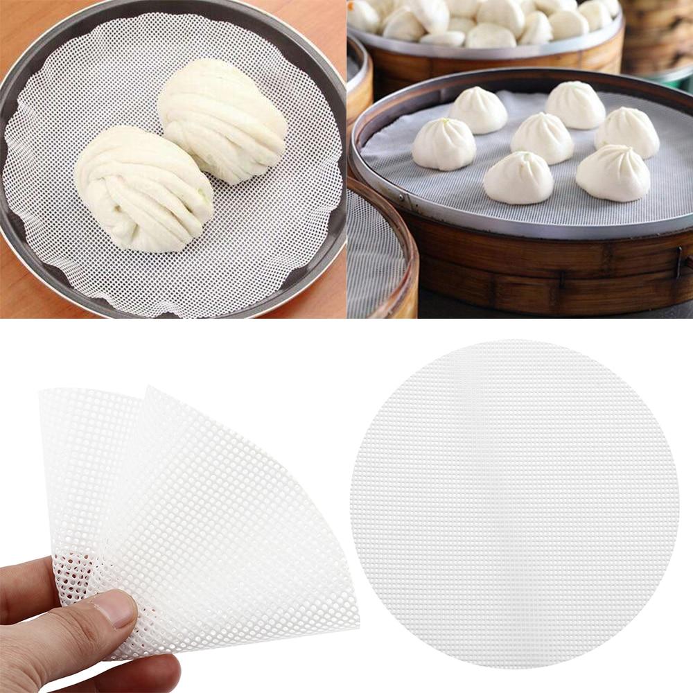 1 шт. антипригарный паровой коврик Dim Sum инструмент пищевой силикон Ресторан Кухня под пароваркой коврик кухонные принадлежности
