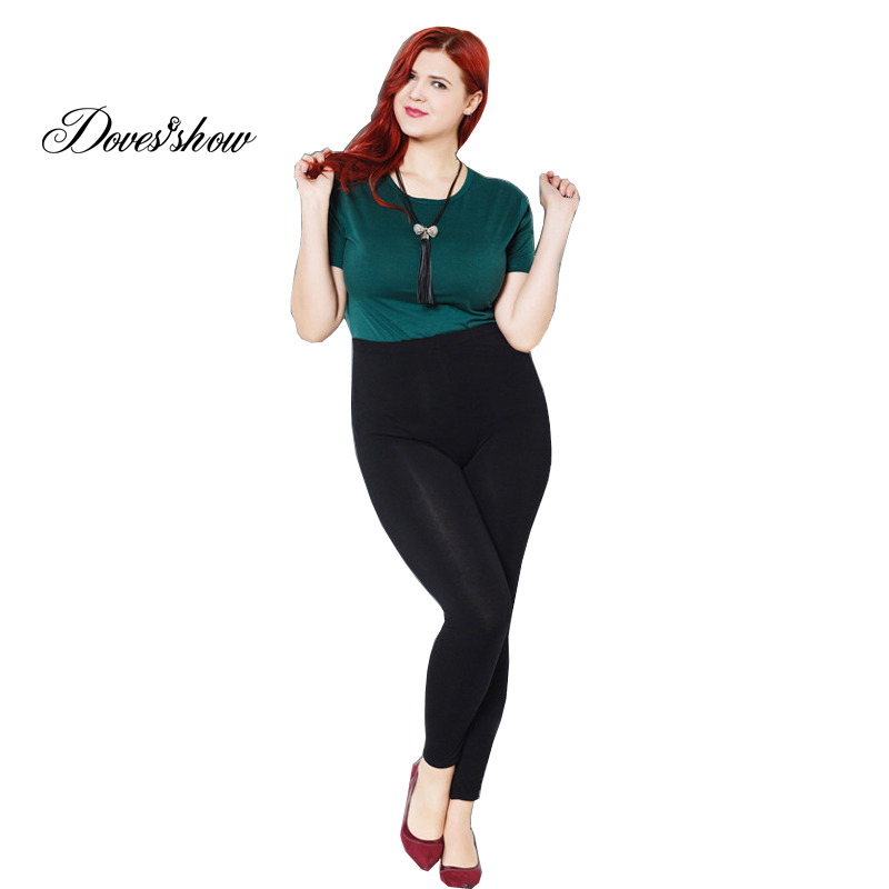 Colorful Modal Big Leggings Women Summer   Pants     Capris   Plus Size Leggings Candy Color Leggings Big Women   Pants   Bodycon   Pants   XXXL