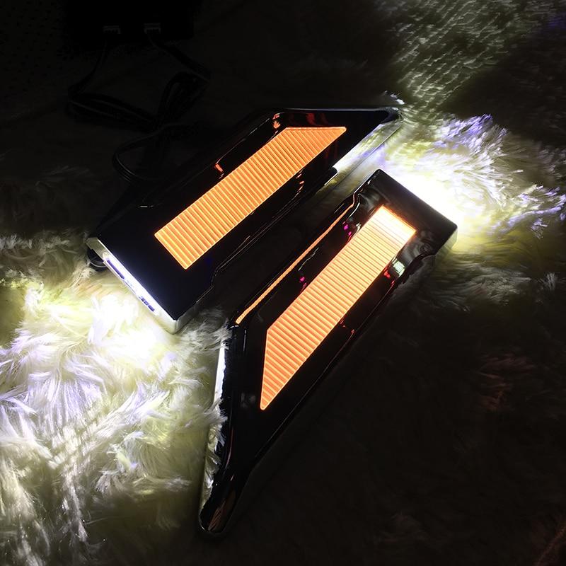 CARiD LED Blade Shape Lamp Steering Fender Side Bulb Turn Signal Light Reversing For Chevrolet Cruze Spark Sonic Camaro Volt