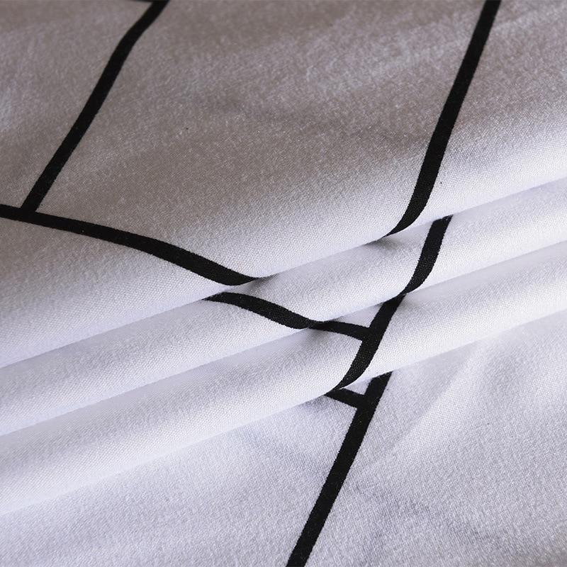 Image 4 - LOVINSUNSHINE King Duvet Cover Set Comforter Bedding Sets Stripe Black Bedding Set GA01#-in Duvet Cover from Home & Garden