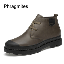 Phragmites 2019 newly fashion men shoes round toe solid winter snow boots  Aliexpress hot sale ankle a3ea6eb9ea5a