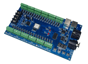 Image 2 - DC5V 24V 36CH RGB DMX512ถอดรหัสLED DMX XRL 3P Controller 36ช่อง13กลุ่มRGB MAX 36AสำหรับLED StripโมดูลLEDเทป