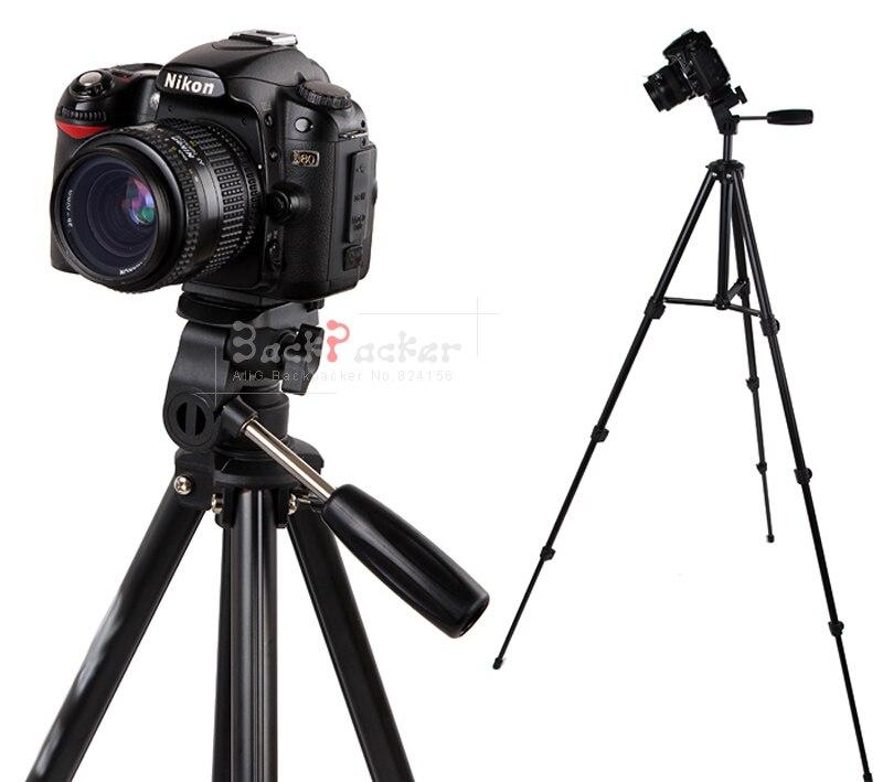 Профессиональный Алюминий портативный Камера видеокамера штатив для Nikon D3100 D3200 5100 D5200 D5300 для Canon 70D 800D 700D