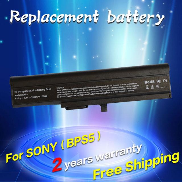Jigu vgp-bps5 vgp-bps5a bateria do portátil para sony vaio vgn-tx1hp vgn-tx26c vgn-tx56c vgn-tx73b vgn-tx90s vgn-tx800 vgn-tx91s