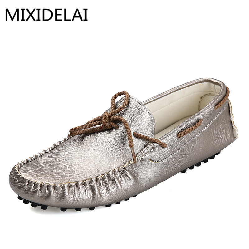 New Arrival Split Leather Fashion Mens Casual ShoesTop Quality Driving Moccasins Slip On Loafers Men Flat Shoes dxkzmcm genuine leather fashion mens casual shoes cowhide driving moccasins handmade slip on loafers
