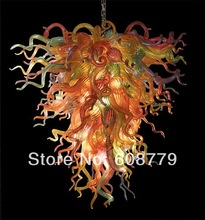 New Arrival Multi Color Hand Blown Glass Decorative Chandelier For Party