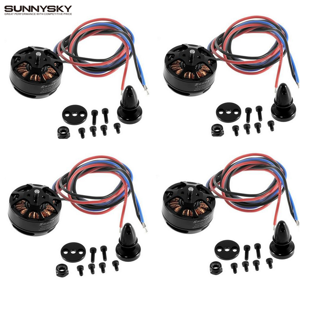 4set/lot SUNNYSKY X3508S 380KV 580KV 700KV 4S 1.5kg 200W Brushless Motor for Multi-rotor copter 4set lot sunnysky x4110s 580kv 680kv 460kv 400kv 340kv brushless disc motor for multirotor multicopter