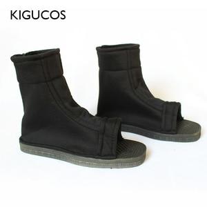 Image 1 - Kigucos naruto cosplay sapatos akatsuki trajes sapatos konohagakure nenhum sato ninja botas haruno sakura sandálias macio zapatos 2 cor