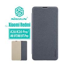 Için xiaomi redmi K20 Pro kılıf kapak için NILLKIN poco x2 kılıf redmi k30 kapak 6.39 Sparkle flip kapak için xiaomi mi 9t mi 9t pro