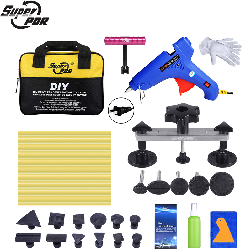 Super PDR Tool Paintless Dent Repair Tools Auto Dent Puller Suction Cup Glue Tabs Hot Adhesive Glue Sticks For Hot Melt Glue Gun super pdr tools dent removal kit for car dent puller suction cup glue sticks for hot melt glue gun line board pump wedge air bag