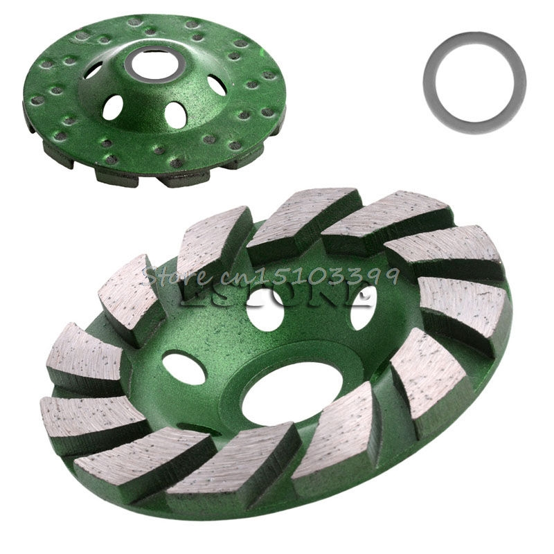 4inch 100mm Diamond Grinding Wheel Concrete Cup Disc Concrete Masonry Stone Tool G08 Drop ship