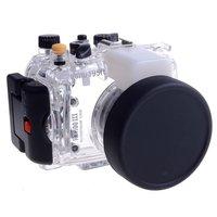 Meikon 60m 195ft Waterproof Underwater Housing Case For Sony DSC RX100 Mark III RX100 M3