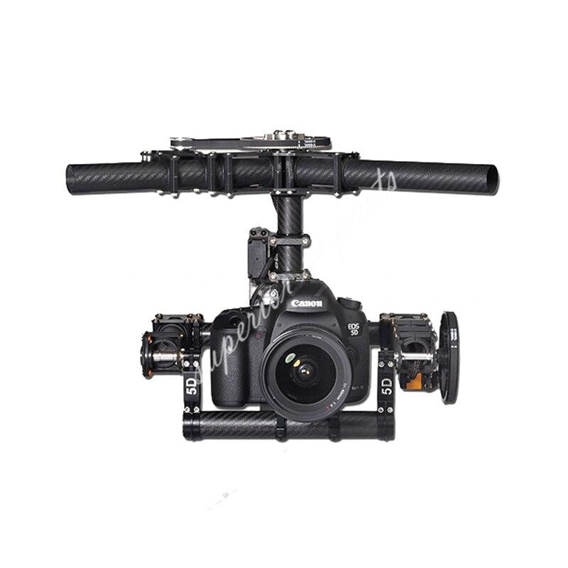 Tarot Invincible 3-Axe TL100AAA 5D2 Mont Caméra pour DSLR 5D Marque D800 900 photo Aérienne FPV TL100B01 50% OFF