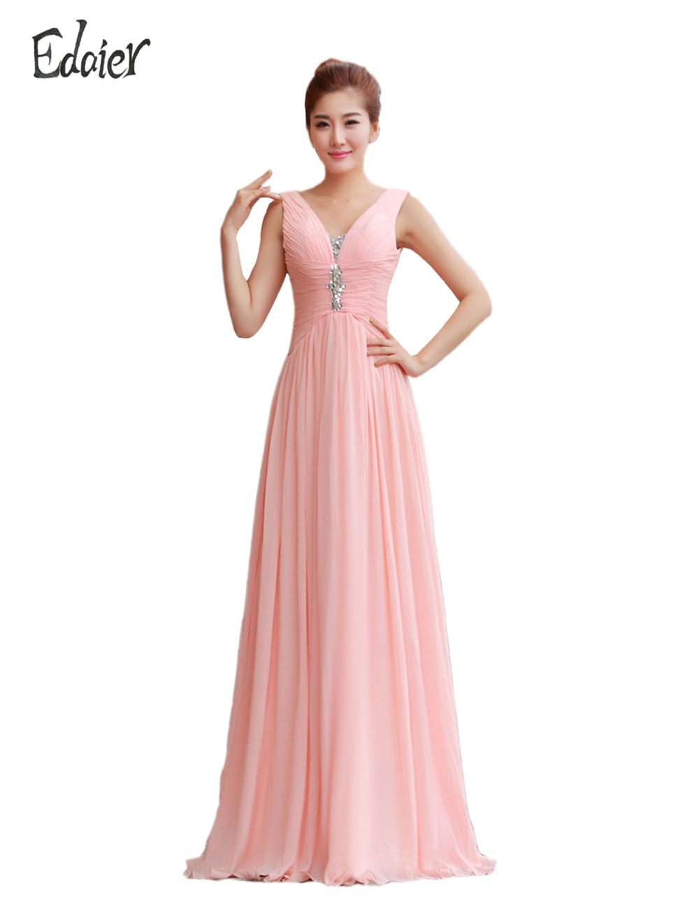 Encantador Vestidos De Dama De Rosa Fotos - Colección de Vestidos de ...