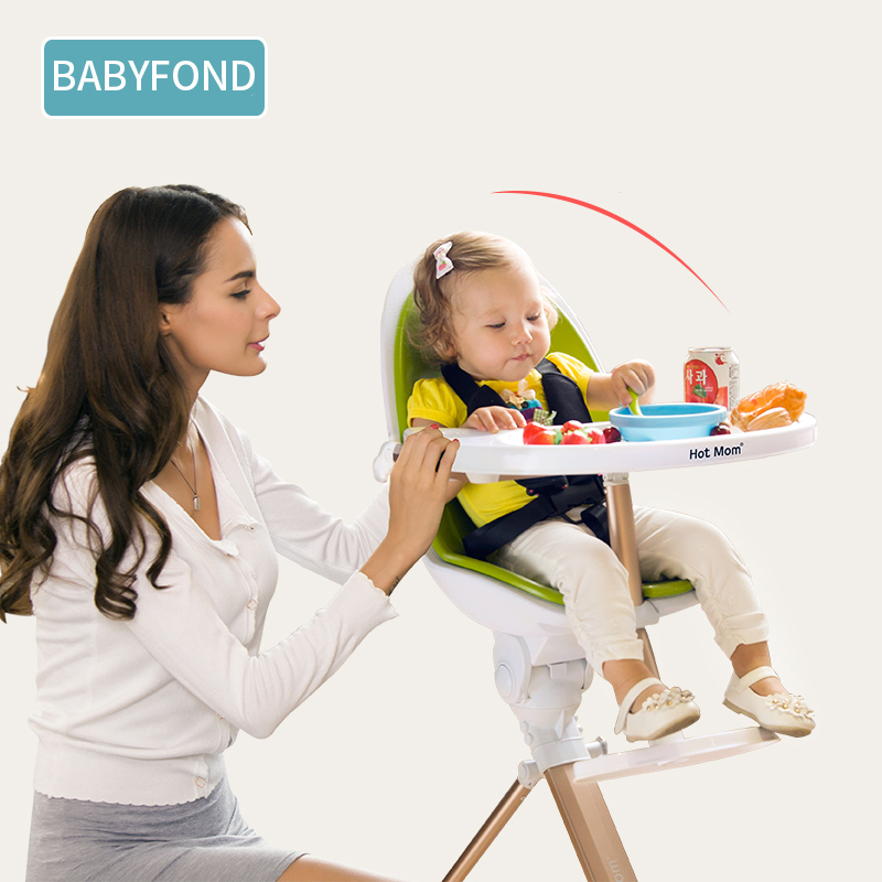 Babyfond Baby Dining Chair Multifunctional Portable Folding Baby Table Dining Adjustable Child Dining Chair все цены