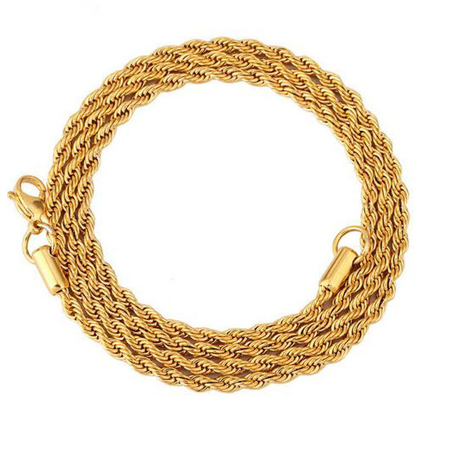Silver Gold 3MM Chain...