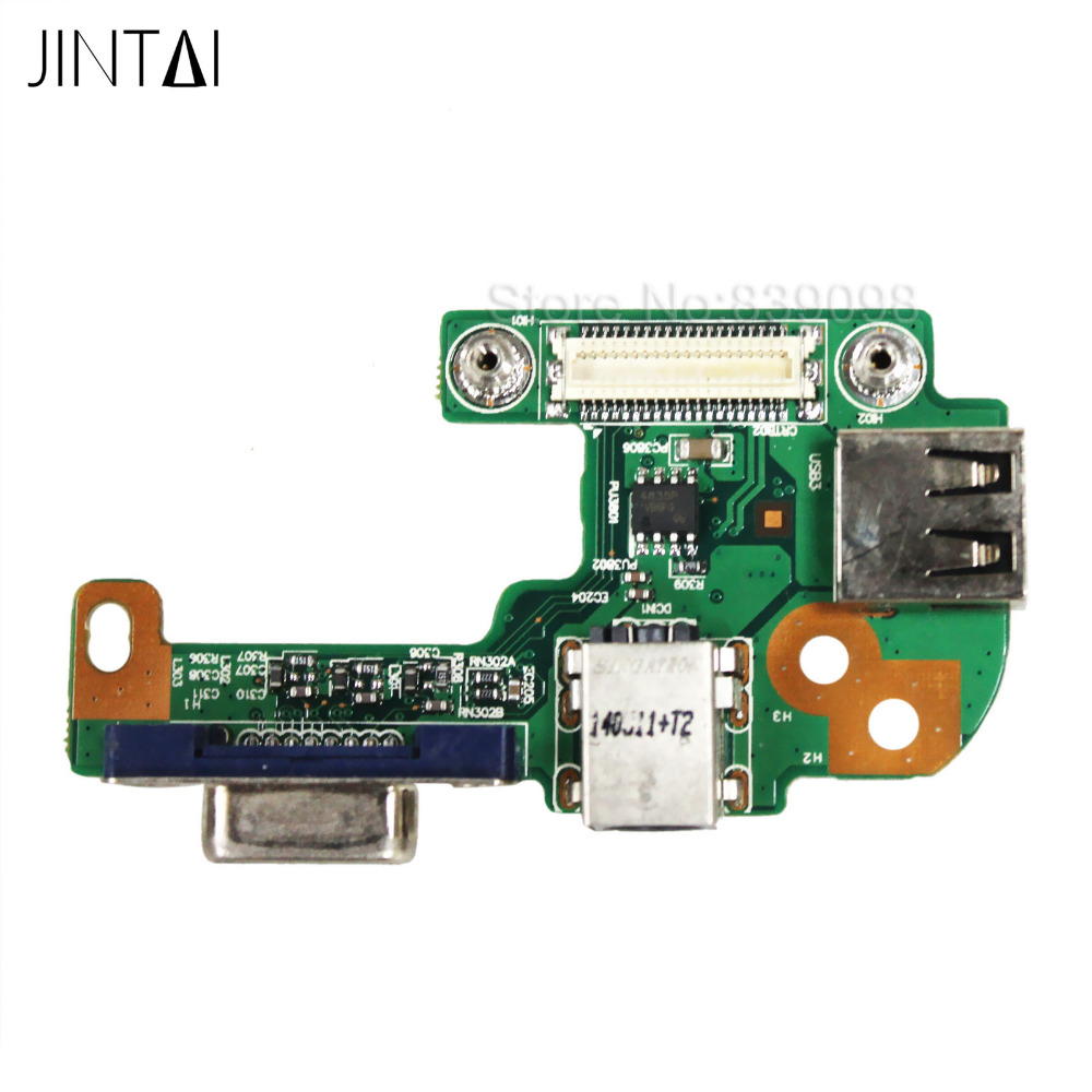 все цены на  DC POWER JACK PORT VGA USB IO BOARD FOR DELL INSPIRON 15R N5110 VOSTRO V3550 PFYC8  онлайн