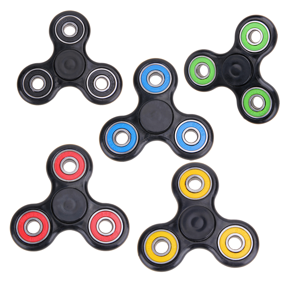 Rotation Long Time Fidget Tri Spinner Toys Sensory Fidgets Autism ADHD Hand Spinner Anti Stress Funny