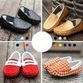 2016 Nueva Verano Otoño Niños Zapatos de Cuero Genuinos Clásicos Zapatos Lindos para Los Niños Niñas niños Zapatos Unisex Zapatillas de deporte de Moda