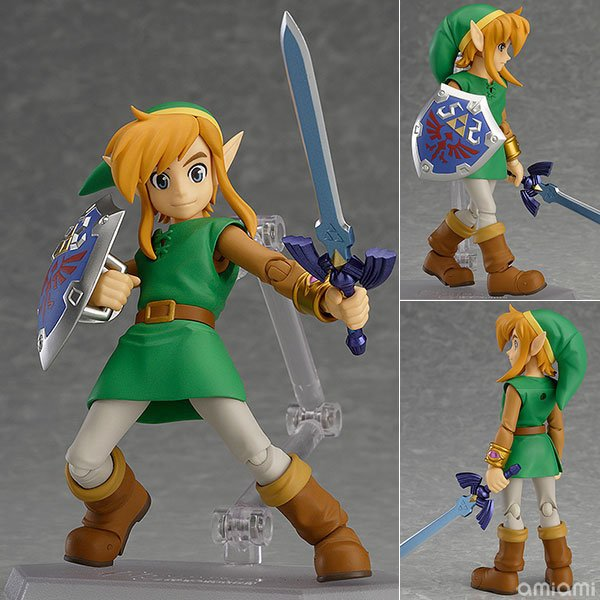 Anime The Legend of Zelda Link A Link Between Worlds Figma EX-032 / Figma 284 PVC Action Figure Collectible Model Toy 2 Types anime the legend of zelda action figure link fighting ver link doll pvc figure collectible model toy 30cm kt3647