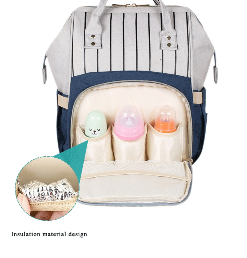 HTB1zzPQdv1H3KVjSZFHq6zKppXaO Large Capacity Mommy Maternity Bag Diaper Nappy Bag Bolsa Maternida Printed Bebe Bag Travel Backpack Desiger Nursing Baby Care