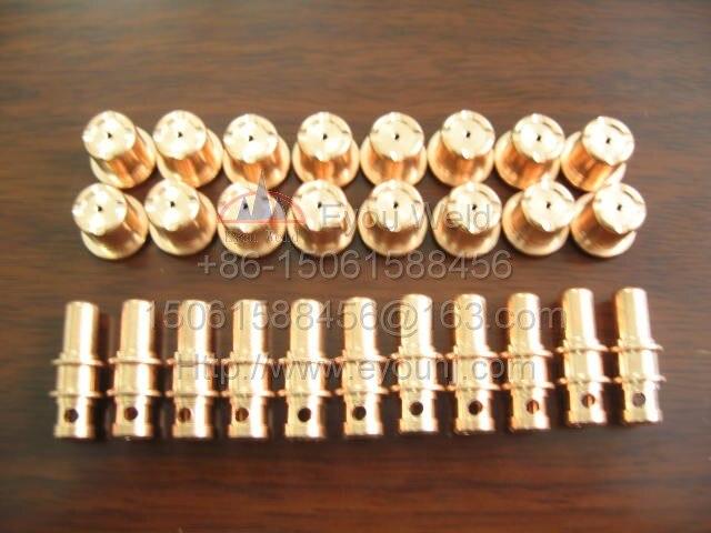 100pcs 50 pcs PR0109 Electrodes 50 pcs PD0105 Tips Plasma Cutter Consumables for Trafimet A81 P81