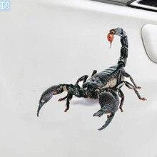 Автомобильные наклейки, Имитация животных, паук, геккон, скорпионы для DACIA key Logan, Duster sandero lodgy sandero stepway dokke, аксессуары