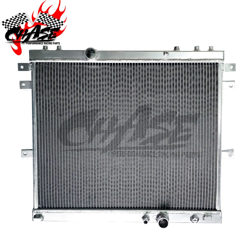56MM 2ROW Aluminum Radiator For TOYOTA SURF HILUX 2.4//2.0 LN130 AT//MT
