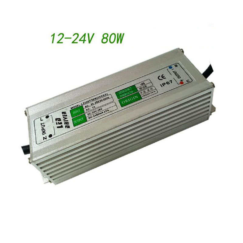 Lights & Lighting Lighting Accessories Cheap Price Boost Waterproof Led Driver Dc12-24v 80w 10 Strings 8 And Led Drive Power Supply For Street Mining Lighting New Varieties Are Introduced One After Another