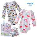 Baby Bodysuits Newborn Cotton Body Baby Long Sleeve Underwear Infant Boys Girls Pajamas Clothes 5pcs #130ssy