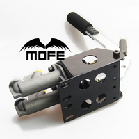 MOFE Racing SPECIAL OFFER Lever Length: 30cm 0.75 INCH Double Dual Master Cylinder Rally Drift Hand Brake Hydraulic Handbrake