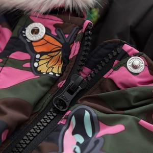 Image 5 - Balabala Ragazze giù giacca invernale giacca mimetica versione Coreana delle grandi bambini bambini di bassa statura caldo di spessore delle ragazze dei vestiti