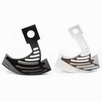 Black/Chrome Side Mount Tag curved License Plate Bracket For HONDA CBR F4/F4I 1999 2000 2001 2002 2003 2004 2005 2006