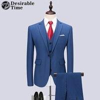 Mens 3 Piece Purple Suit Groom Wedding Tuxedo Suits for Men Business Formal Suit Costume Homme 5XL 6XL Mens Red Prom Suits DT416