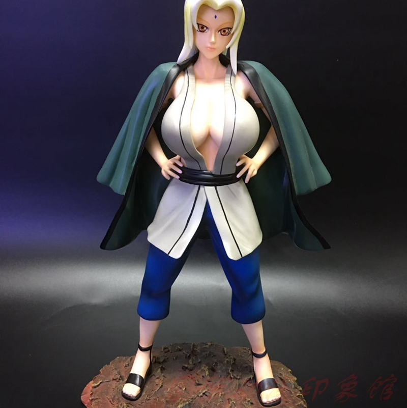 MODEL FANS IN-STOCK NARUTO 30cm Tsunade B type GK resin made for Collection cloth can take off in stock can pay ad9914bcpz ad9914bcp ad9914