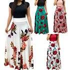 Women Dress Short Sl...
