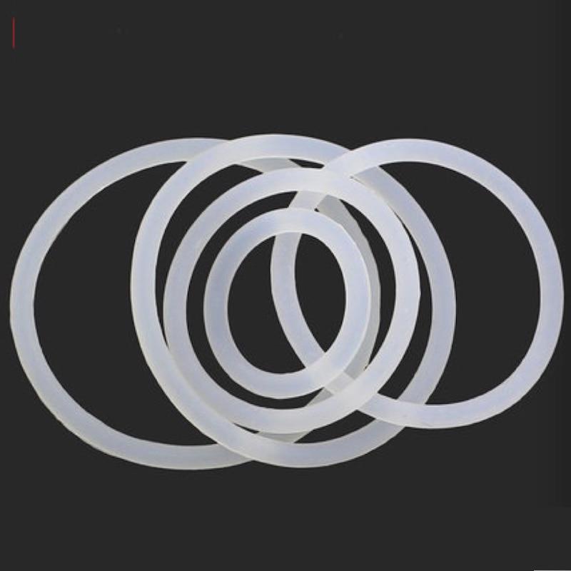 20x силиконовые кольца Прижимные шайбы Прокладки M8 X 2 мм O кольцо уплотнения фланец из ...