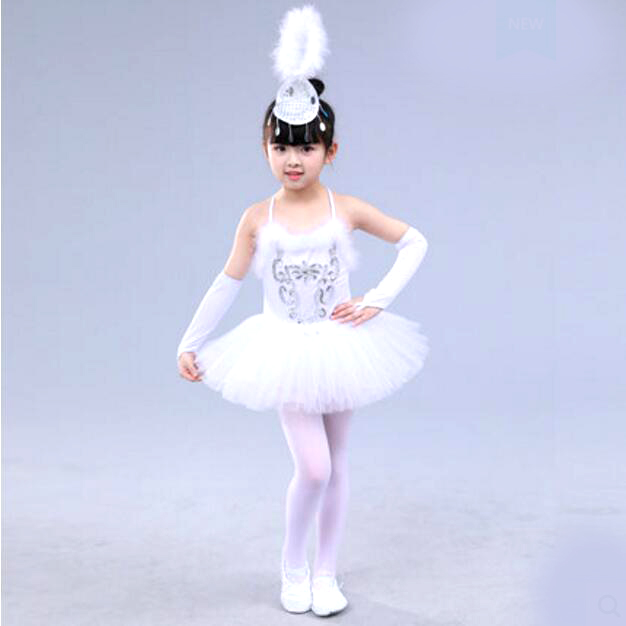0ca704fa8631 Professional White Swan Lake Ballet Tutu Costume Girls Children Ballerina  Dress Kids Ballet Dress Dancewear Dance Dress For Girl