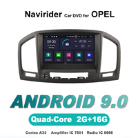 Navirider OS 9.0 Car Android Player for OPEL INSIGNIA 08 11 stereo radio gps navigation bluetooth TDA7851 Amplifier sound System