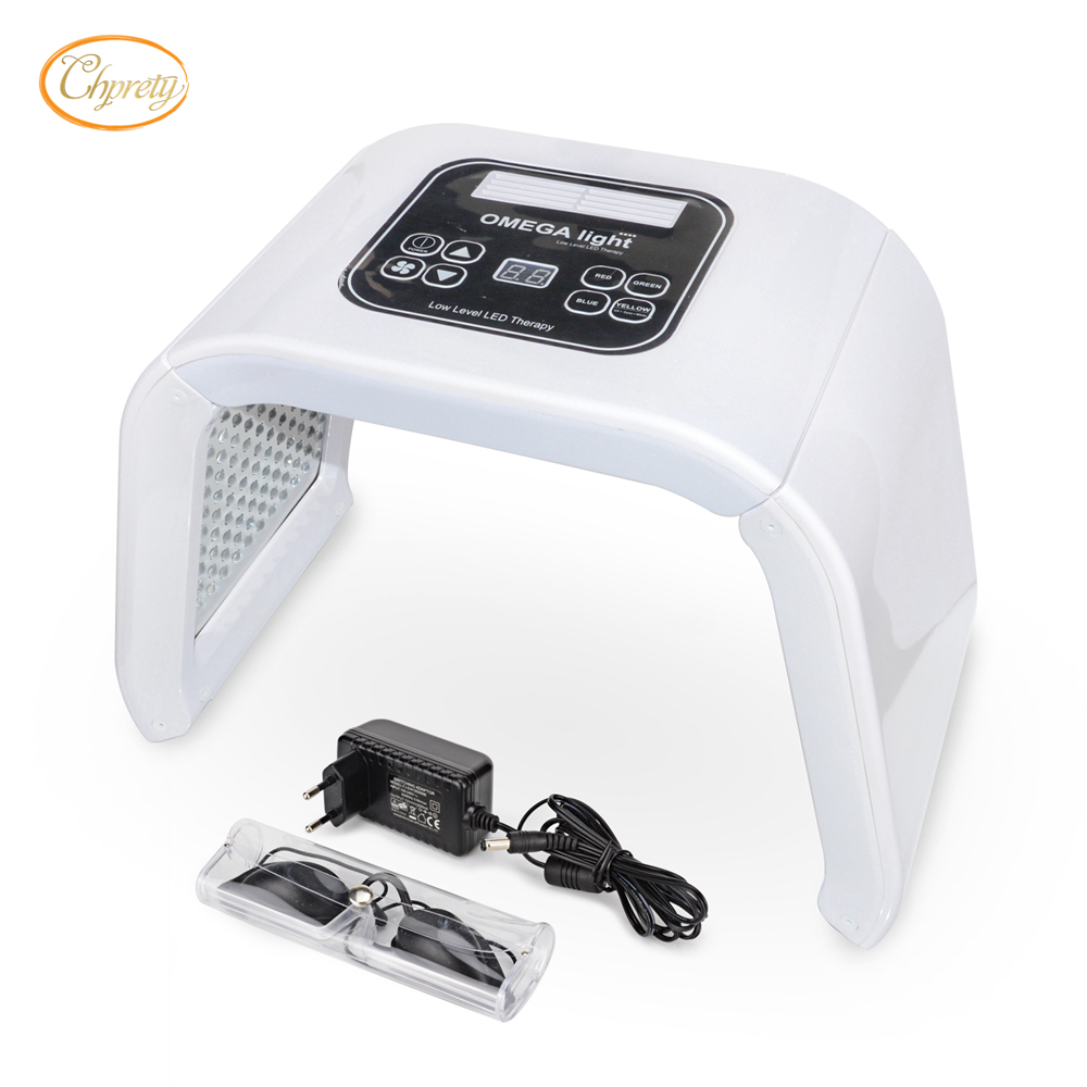 PDT LED Light Photodynamic Facial Skin Care Rejuvenation therapy Device Led Face Mask Omega Lamp Anti Aging Black Spots Removal rechargeable pdt heating led photon bio light therapy skin care facial rejuvenation firming face beauty massager machine