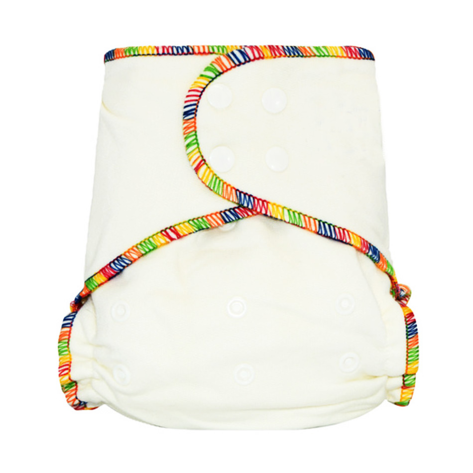 Miababy 3pcs lot Onesize Bamboo Fitted Cloth Diaper for Heavy Wetter Fits Baby 5 15kgs 70