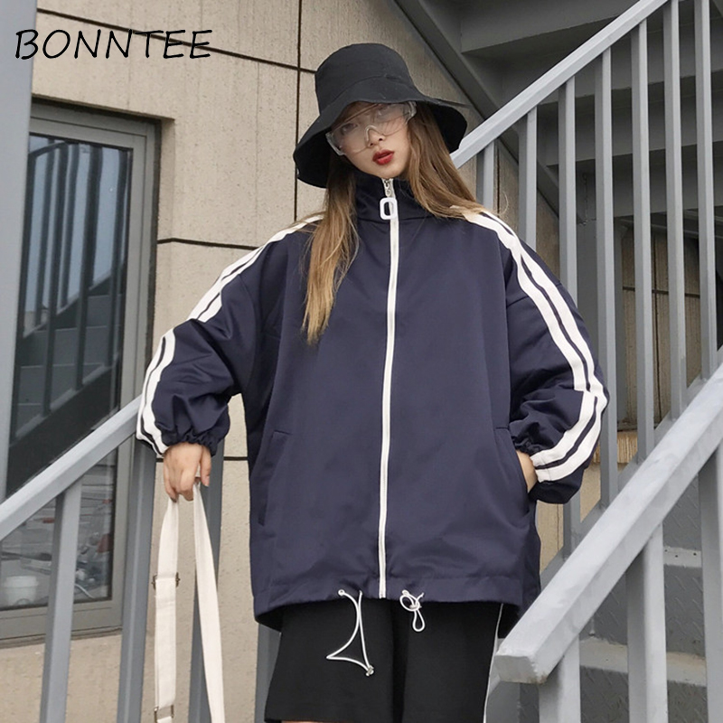 Jackets   Women New Long Sleeve Thin All-match Ulzzang Chic Fashion   Basic     Jackets   Students Daily Korean Style Trendy Womens Casual