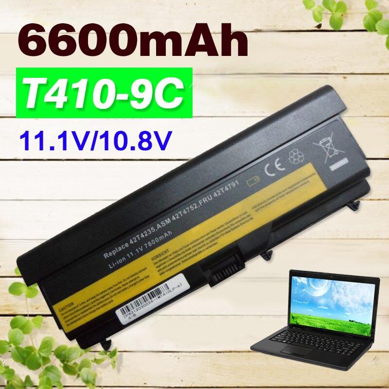 battery For Lenovo ThinkPad Edge E40 E50 L410 L412 L420 L421 L510 L512 L520 SL410 SL510 T410 T420 T510 T520 W510 W520 lenovo e50 00