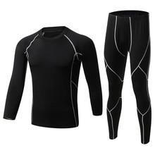 2016 neue Winter Männer Thermo-unterwäsche Sets Fleece Warm unterhose Atmungsaktiv Thermo Unterwäsche Quick Dry Top und Hose Anzug strumpfhosen