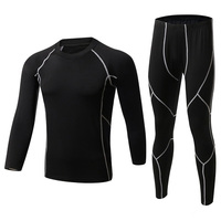2016 New Winter Men Thermal Underwear Outdoor Sports Fleece Long Johns Warm Thermo Underwear Sets Quick