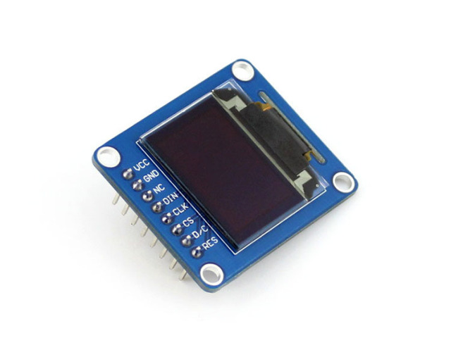 Módulo RGB 0.95 inch OLED (B) LCD Módulo Display LED Chip de Motorista SSD1331 Resolução 96x64 SPI I2C Interfaces com Vertical Pinh